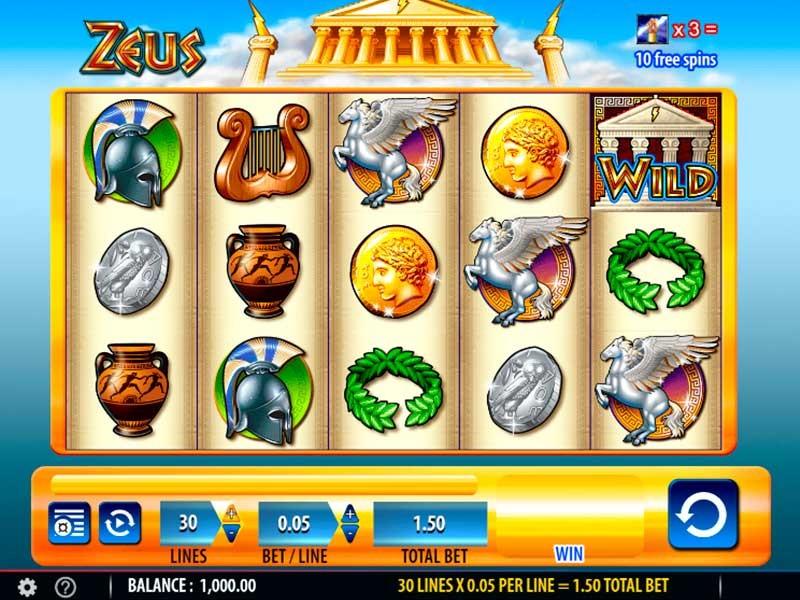 Revisão do Jogo de Slot Zeus