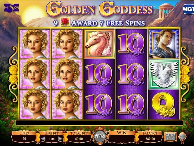 Descubra agora mesmo como jogar Golden Goddess